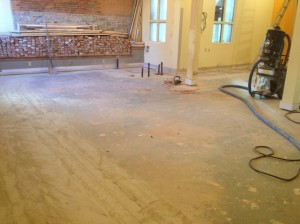 Any floor can be made beautiful with prior preparation of the surface