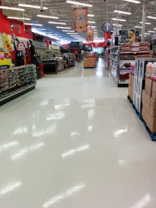 cleaning and maintenance concrete floors