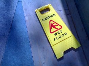 are concrete floors slippery