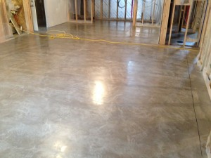 after cream polish concrete floors