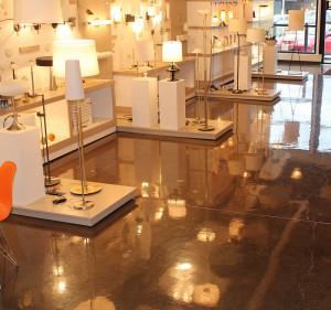 thefloorcompany polished concrete retail flooring