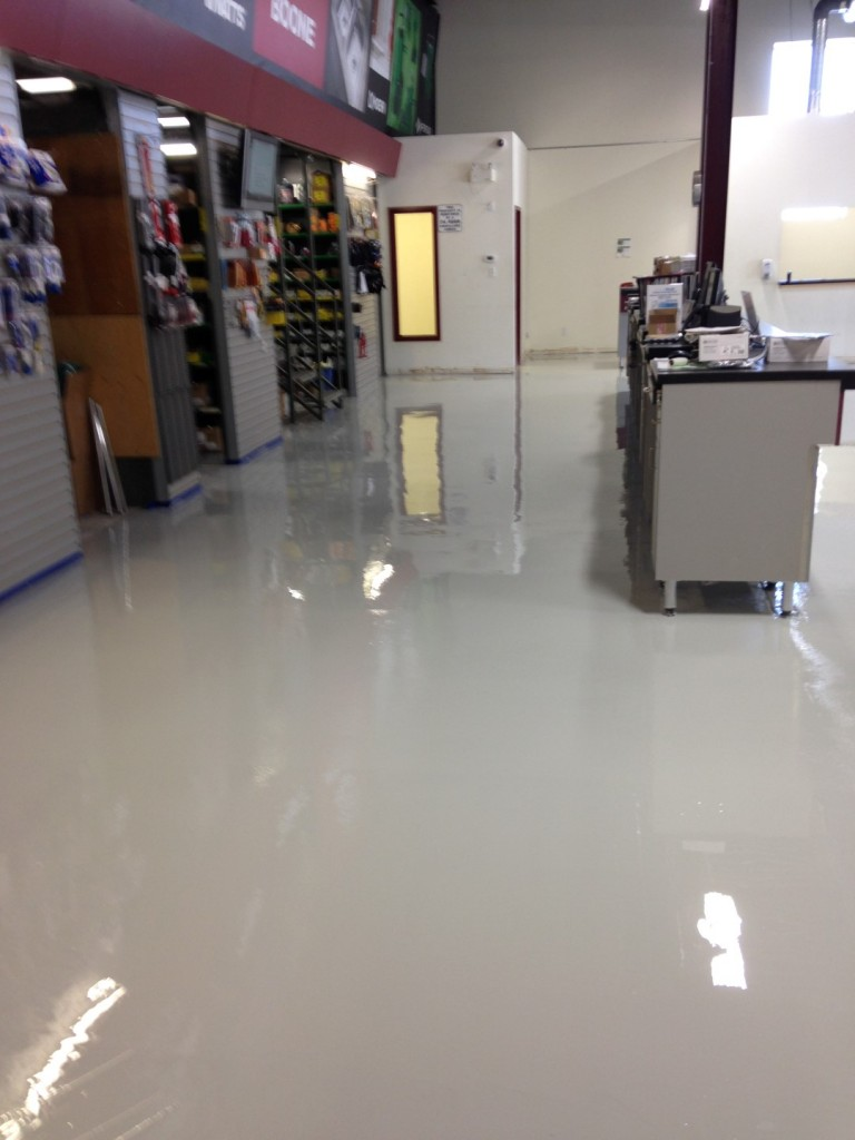boone plumbing concrete floors after