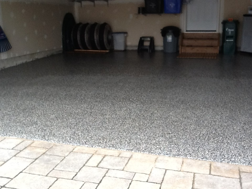 custom concrete floors garage