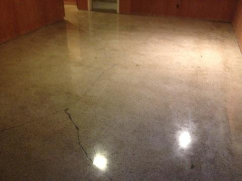 How long does it take to polish a concrete floor the for How to shine cement floor