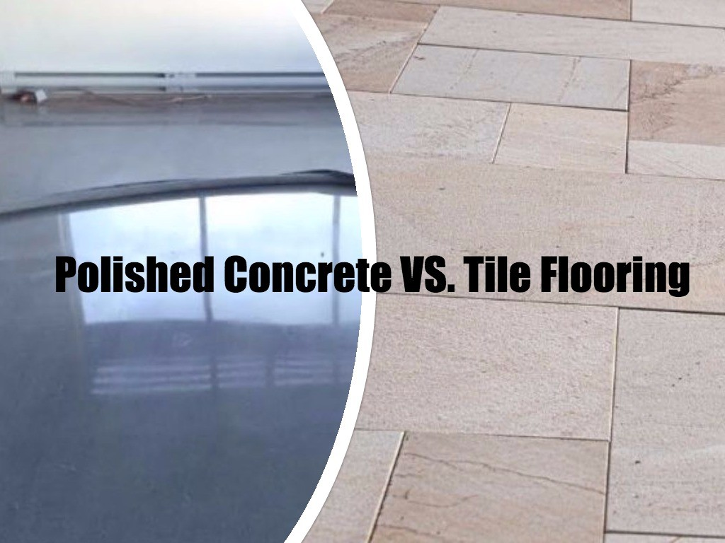 Polished concrete vs tiles what you need to know the floor polished concrete vs tile flooring ottawa polished concrete floors dailygadgetfo Gallery