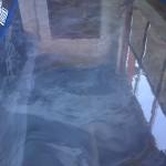 epoxy floors with mica powder disbursement technology.
