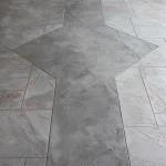 decorative concrete custom work overlay pattern